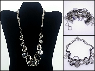 Simply Vera Vera Wang Necklace and Bracelet Set